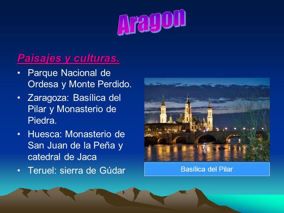 Aragon Paisajes y culturas. Parque Nacional de Ordesa y Monte Perdido.