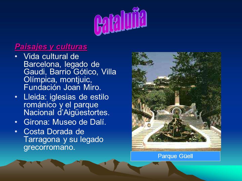 Cataluña Paisajes y culturas