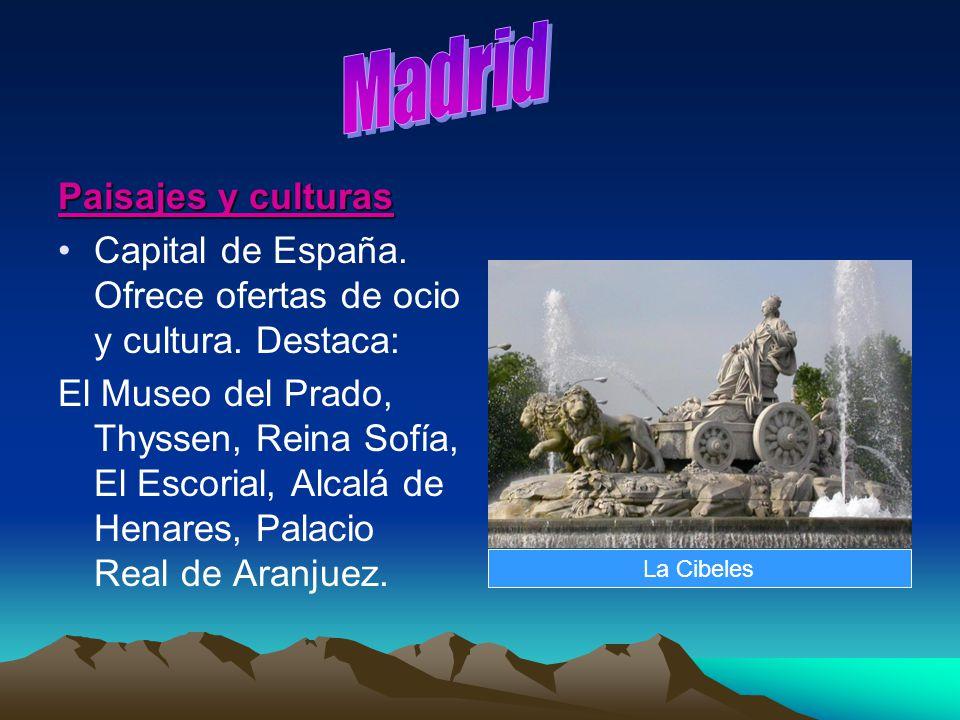 Madrid Paisajes y culturas