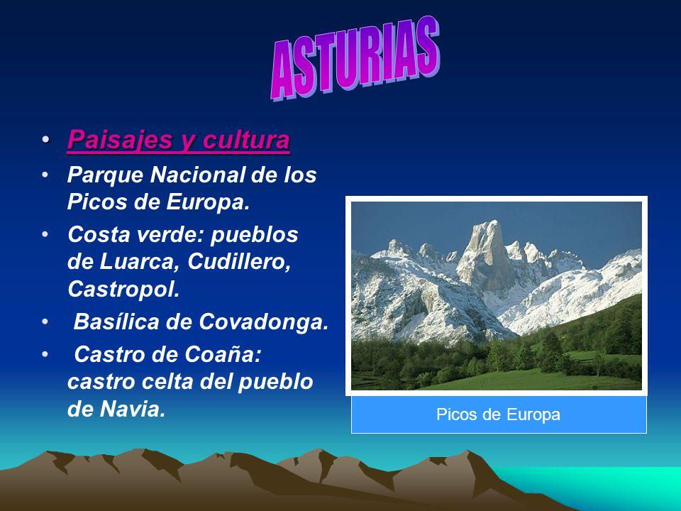 ASTURIAS Paisajes y cultura Parque Nacional de los Picos de Europa.