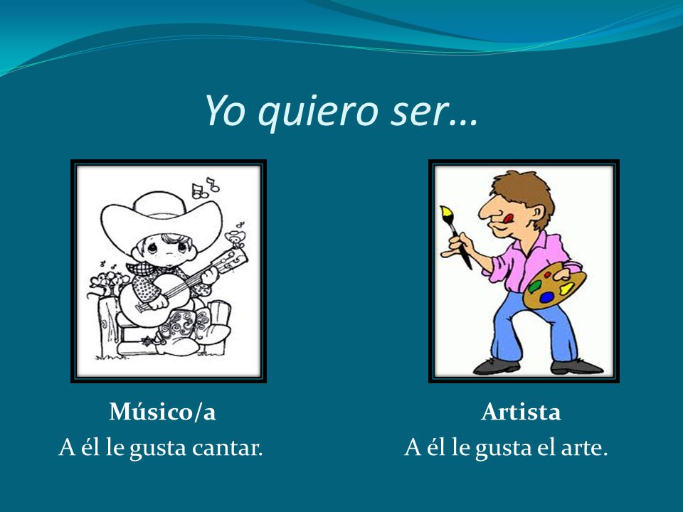 Yo quiero ser… Músico/a Artista