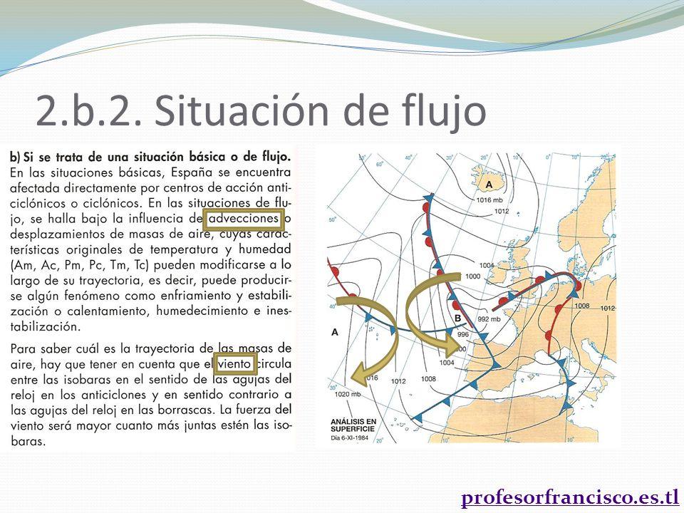 2.b.2. Situación de flujo