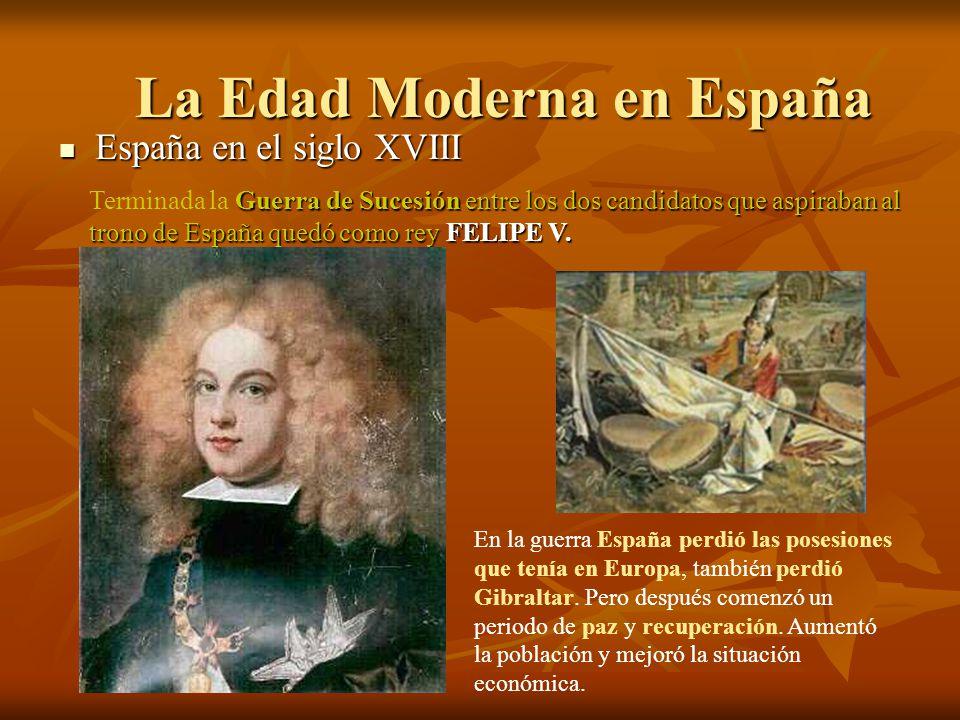 La Edad Moderna en España