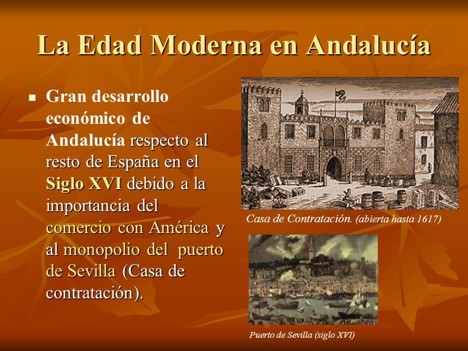 La Edad Moderna en Andalucía