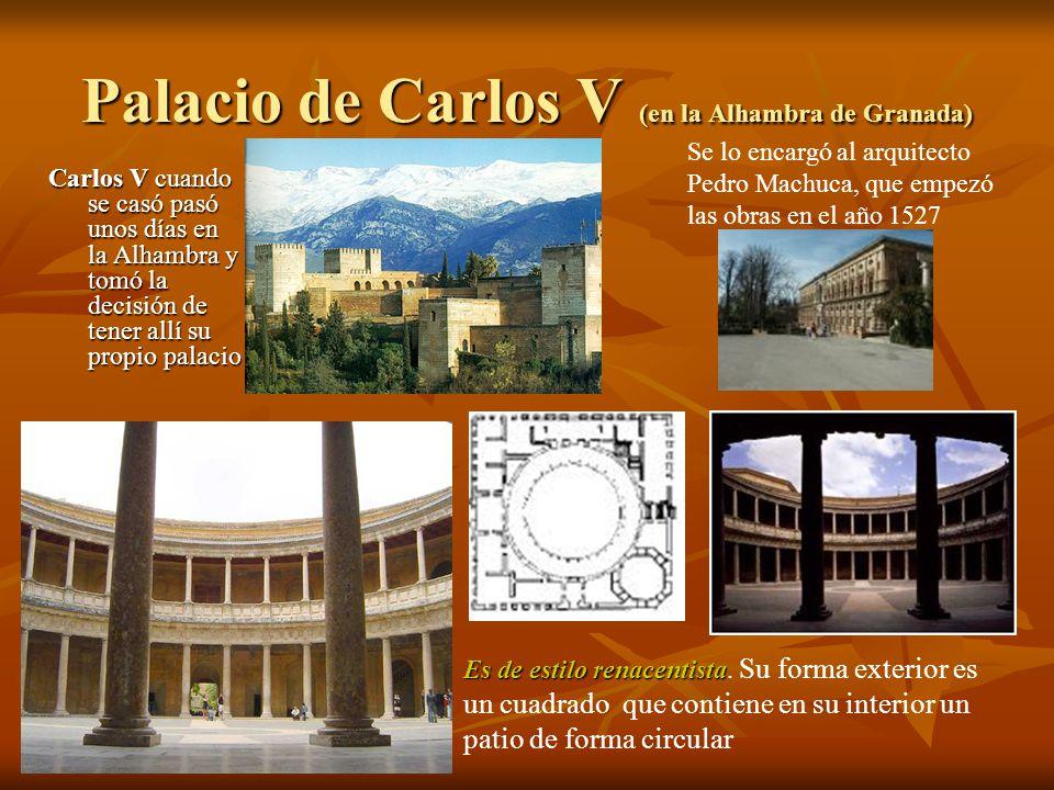 Palacio de Carlos V (en la Alhambra de Granada)