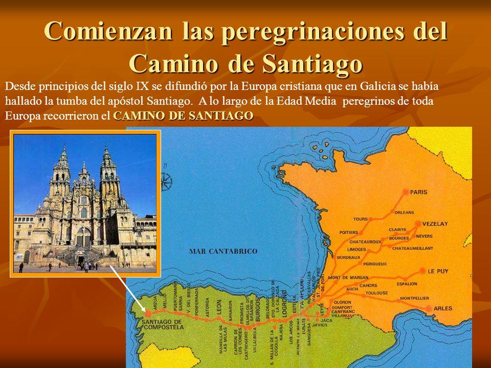 Comienzan las peregrinaciones del Camino de Santiago