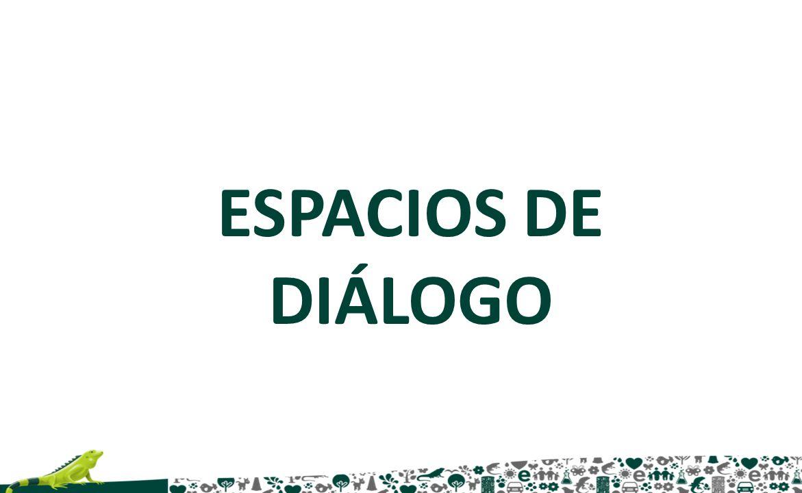 ESPACIOS DE DIÁLOGO
