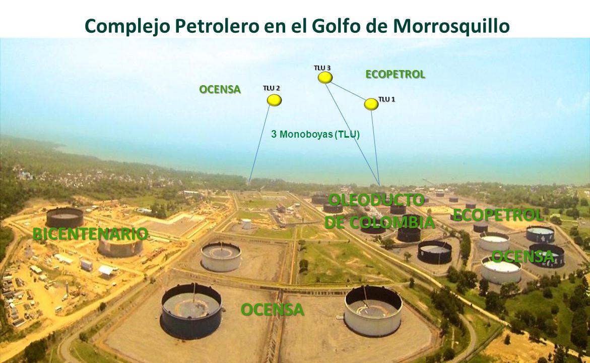 Complejo Petrolero en el Golfo de Morrosquillo