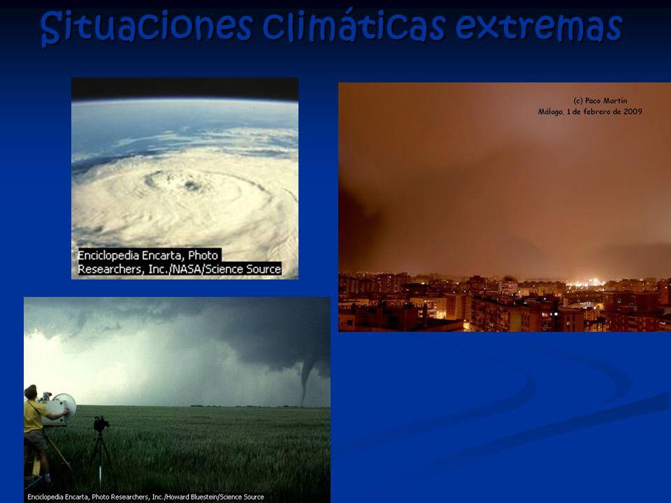 Situaciones climáticas extremas