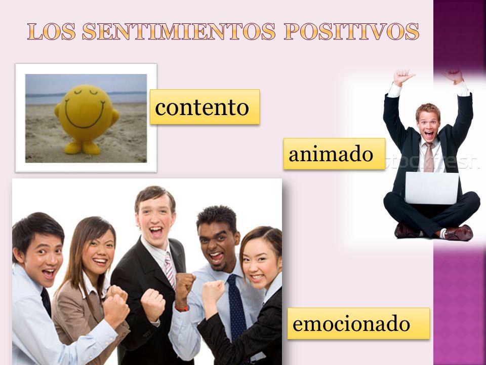 Los sentimientos positivos