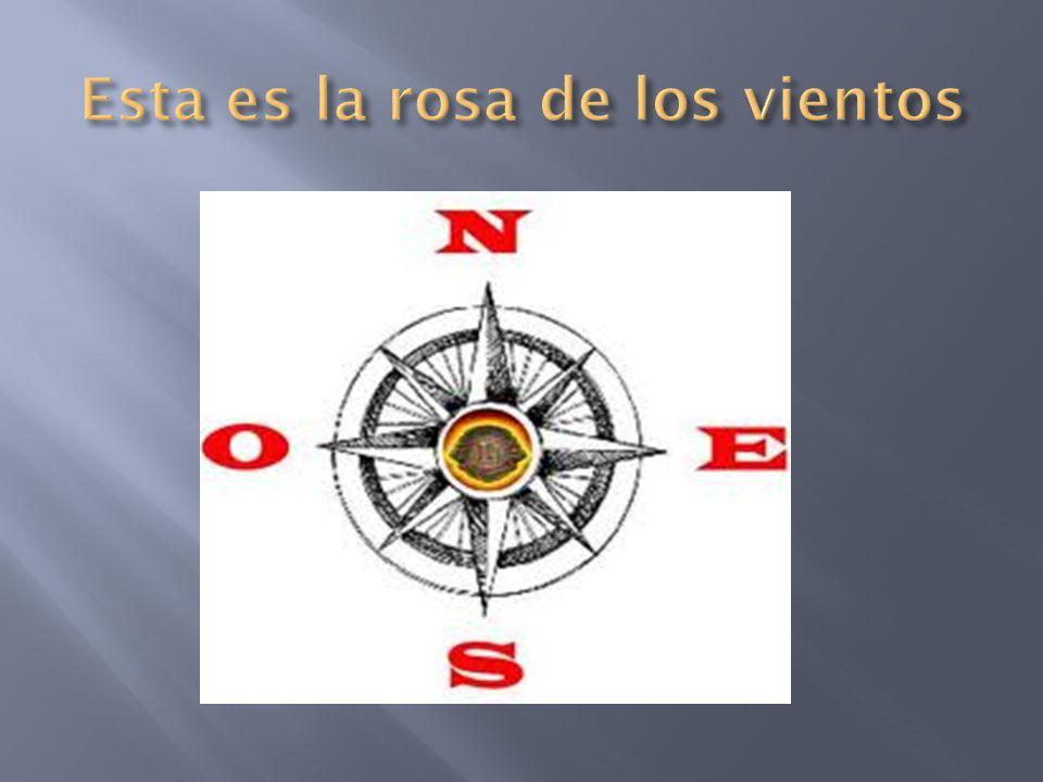 Esta es la rosa de los vientos