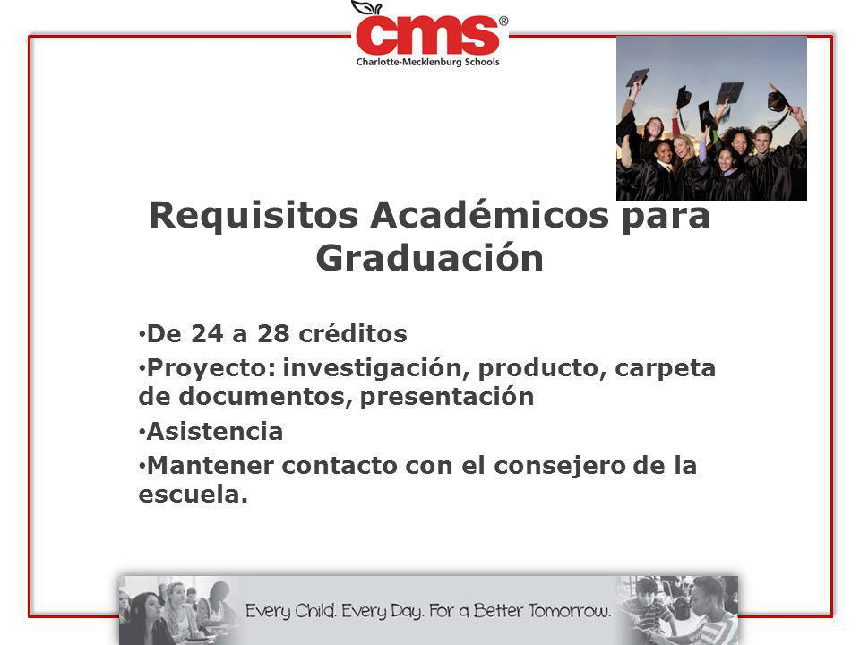 Requisitos Académicos para Graduación