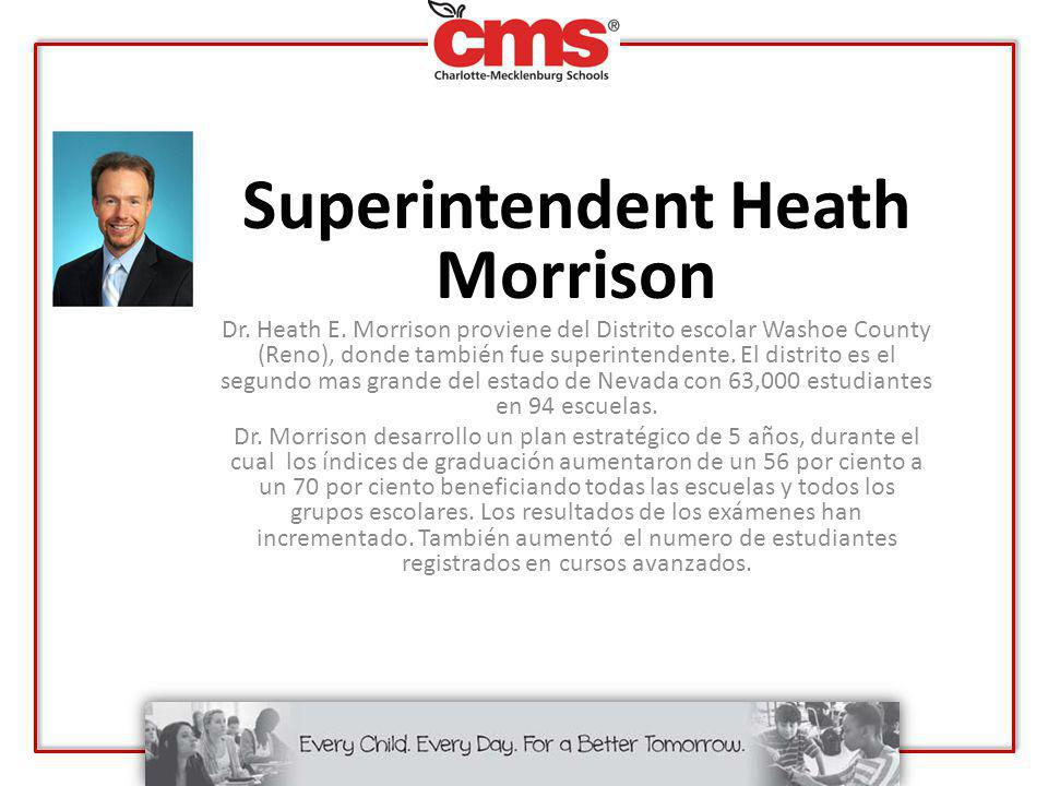 Superintendent Heath Morrison