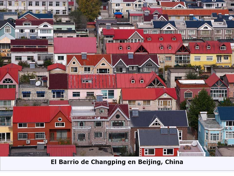 El Barrio de Changping en Beijing, China