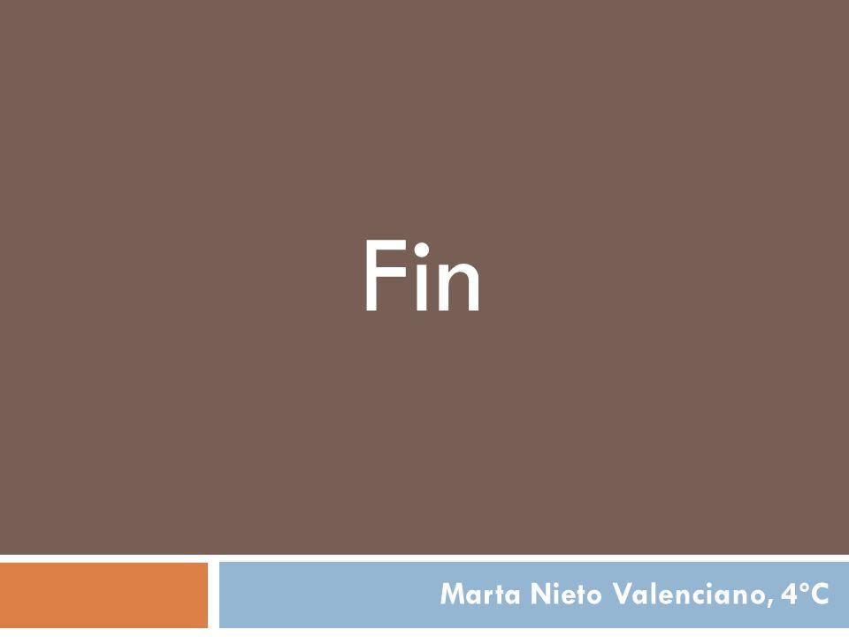 Fin Marta Nieto Valenciano, 4ºC