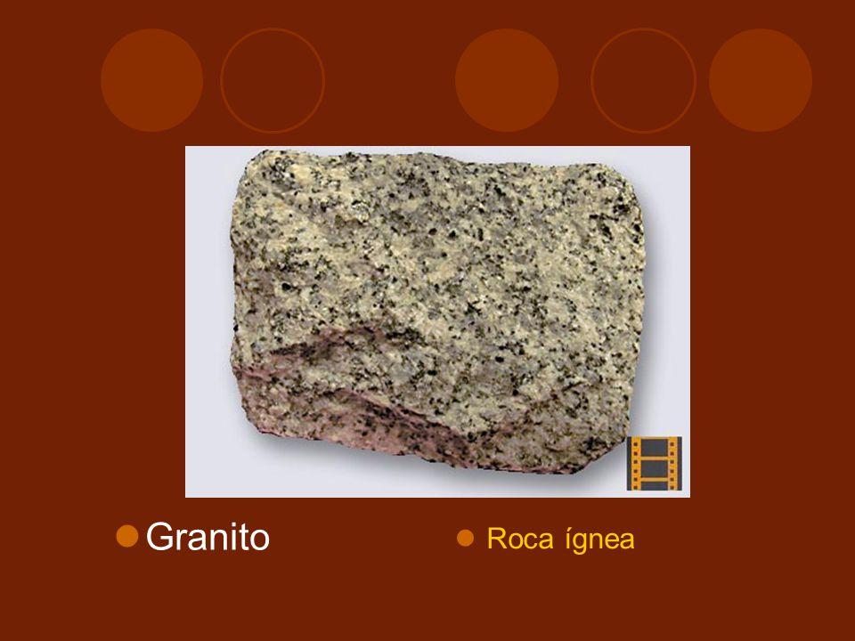 Granito Roca ígnea