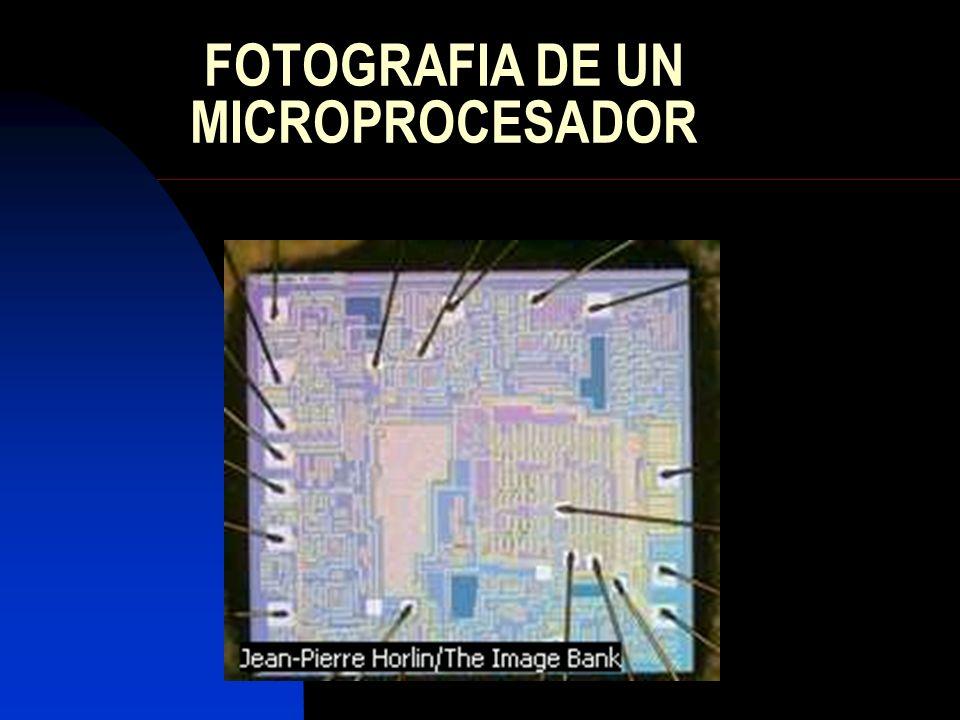 FOTOGRAFIA DE UN MICROPROCESADOR