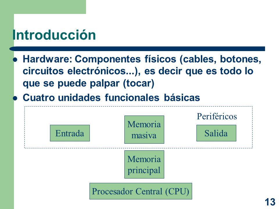 Procesador Central (CPU)
