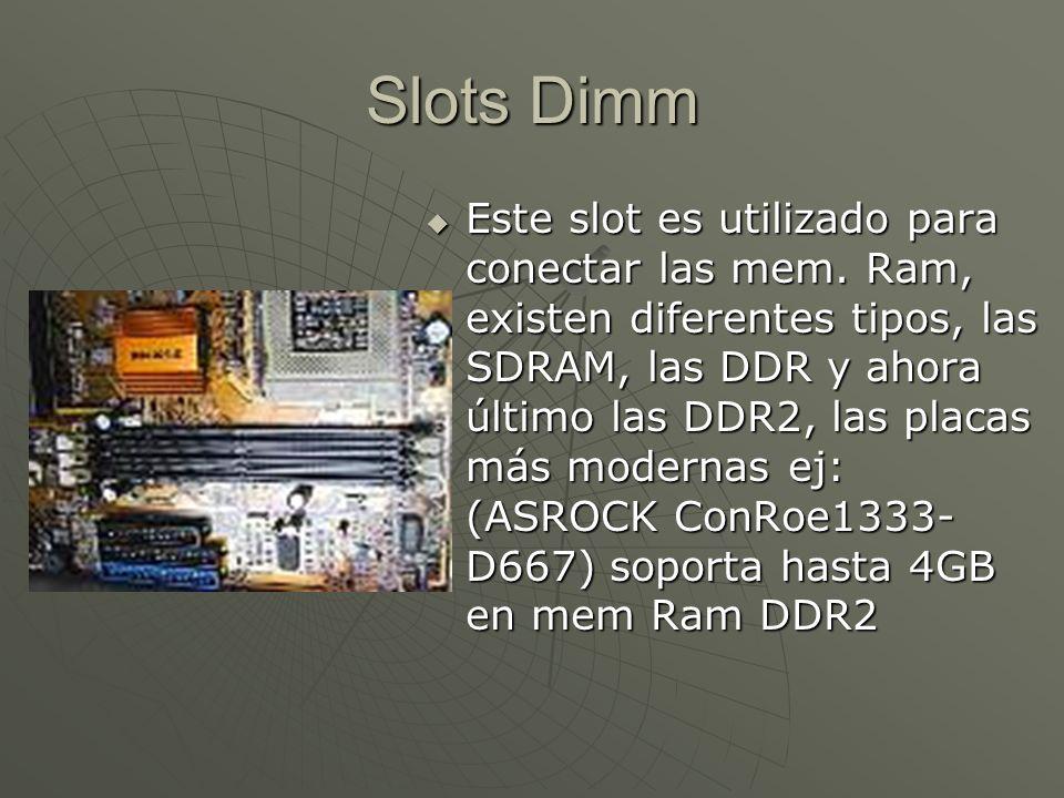 Slots Dimm