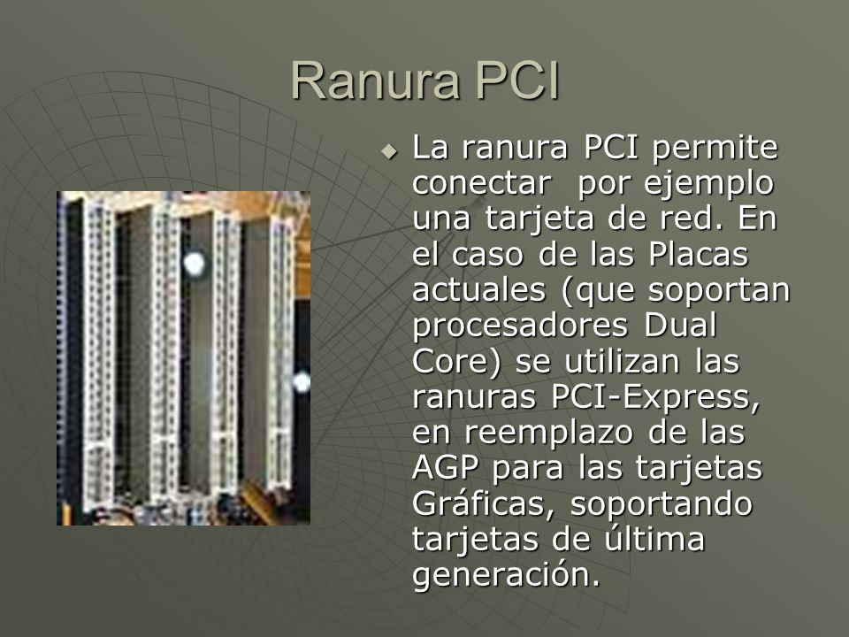 Ranura PCI