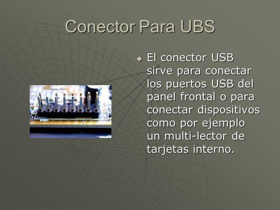 Conector Para UBS
