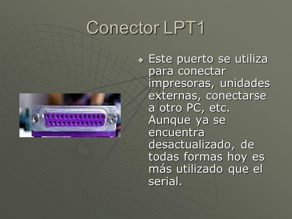 Conector LPT1
