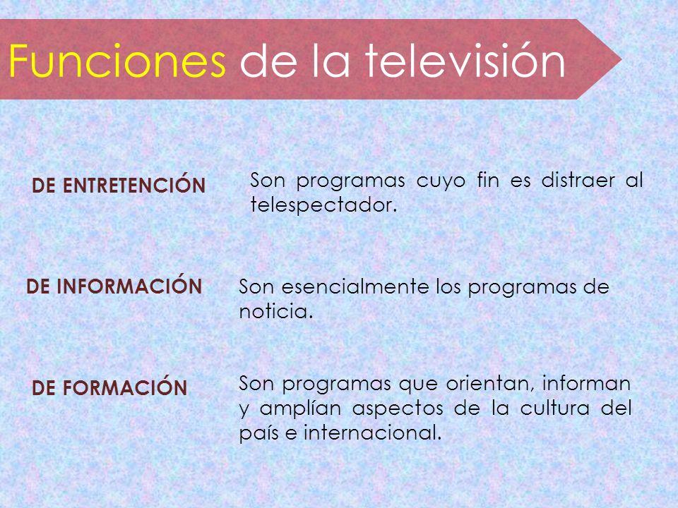 Funciones de la televisión