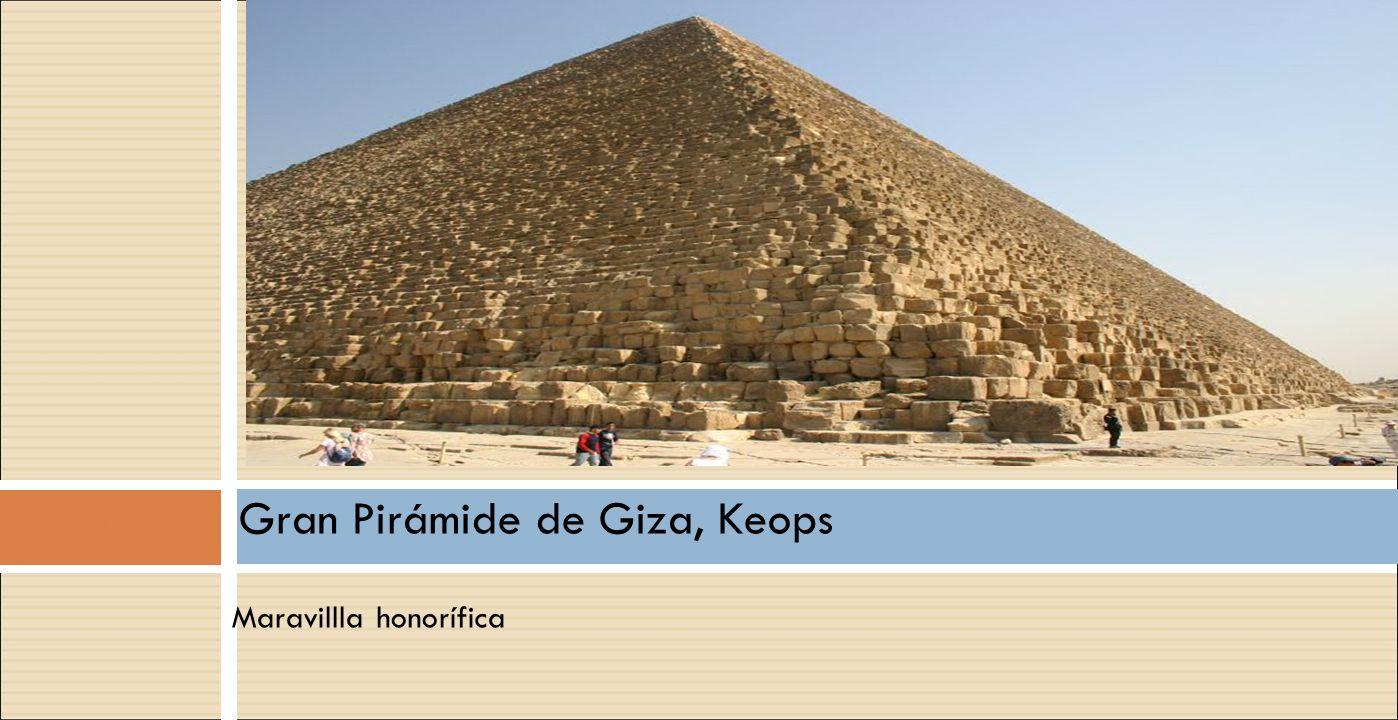Gran Pirámide de Giza, Keops