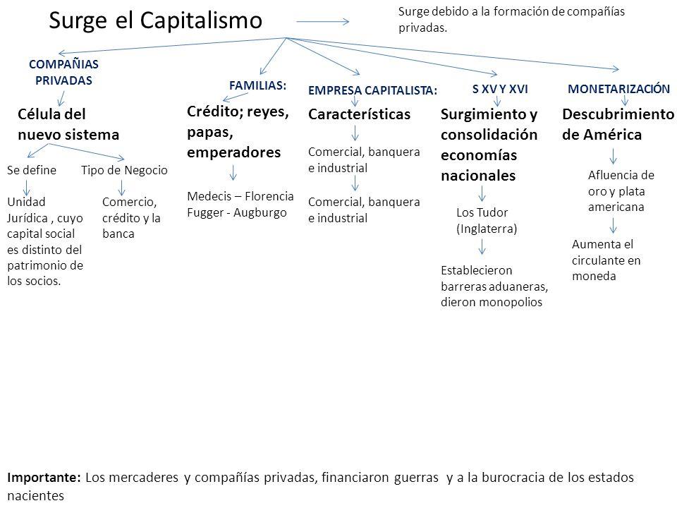 Surge el Capitalismo Célula del nuevo sistema