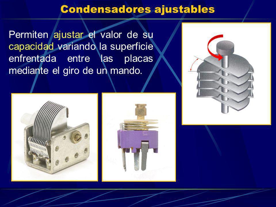 Condensadores ajustables