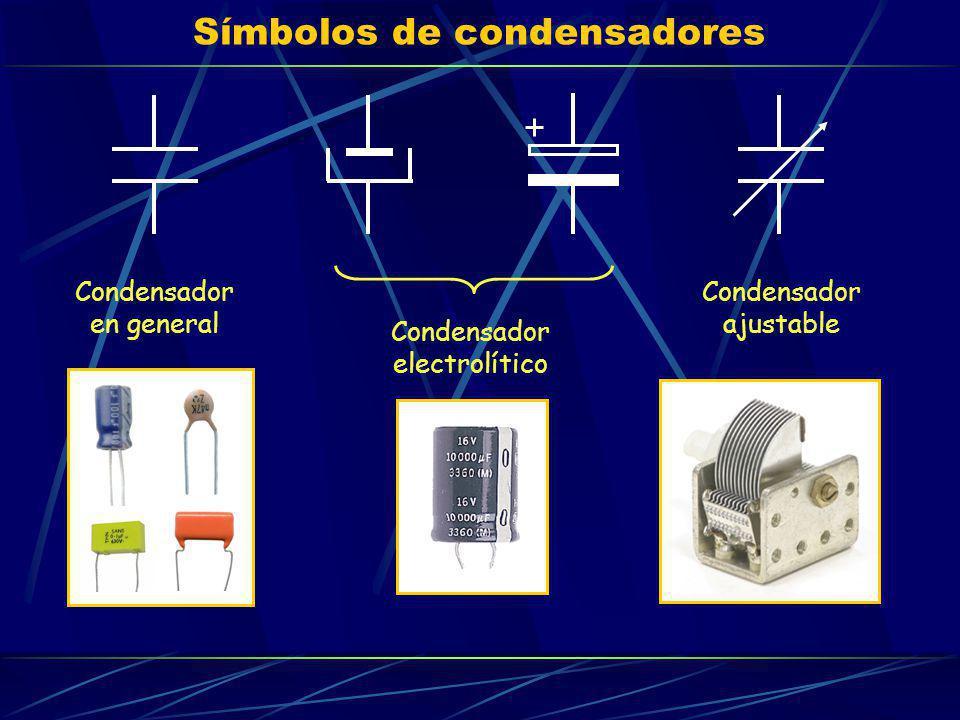 Símbolos de condensadores