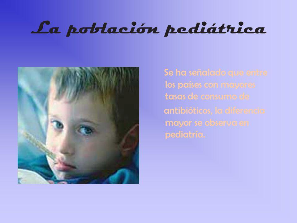 La población pediátrica