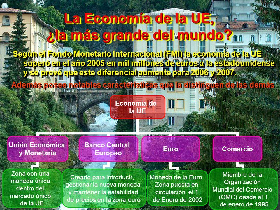 La Economía de la UE, ¿la más grande del mundo