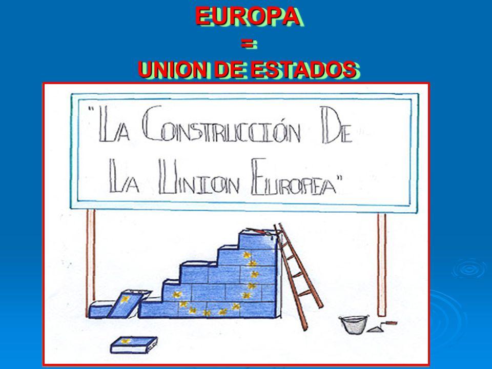EUROPA = UNION DE ESTADOS