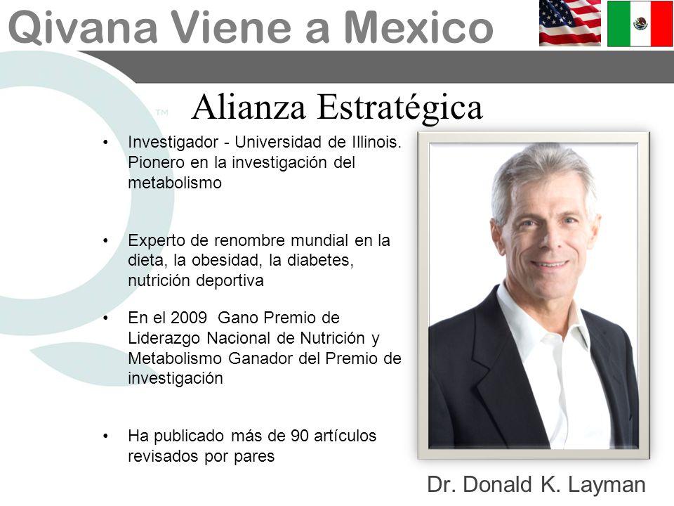 Alianza Estratégica Dr. Donald K. Layman