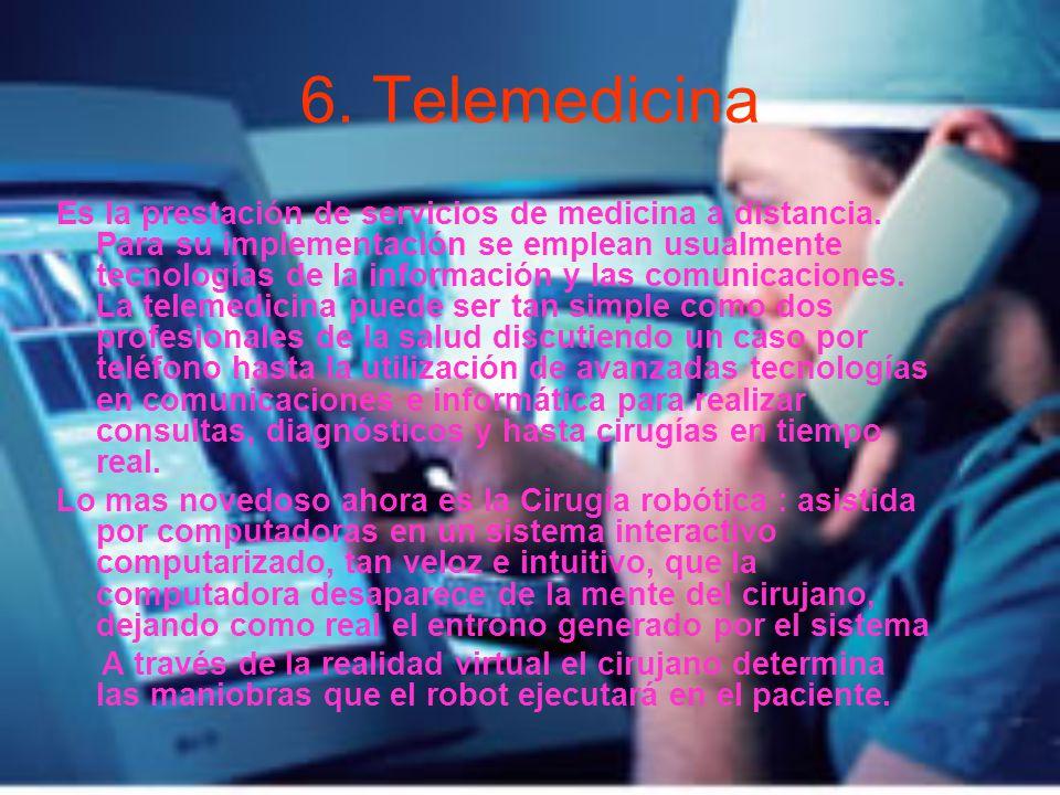 6. Telemedicina