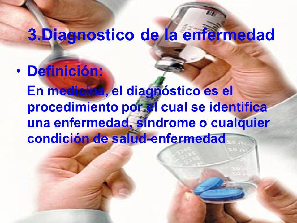 3.Diagnostico de la enfermedad