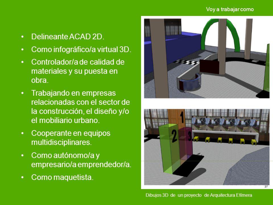 Como infográfico/a virtual 3D.