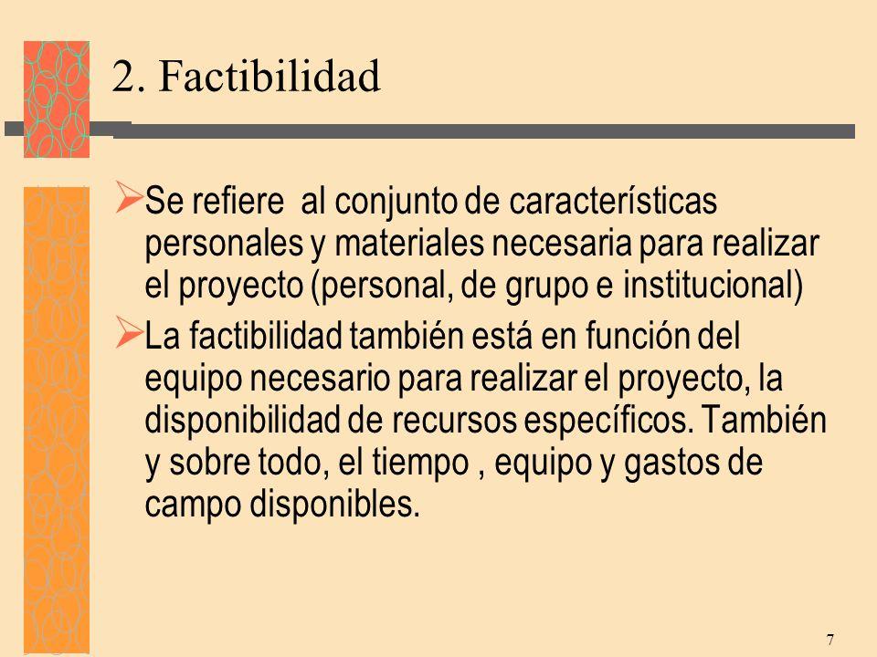 2. Factibilidad