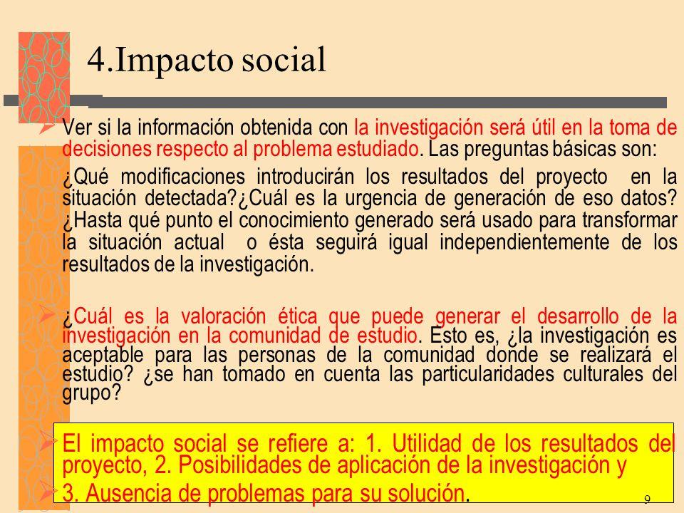 4.Impacto social