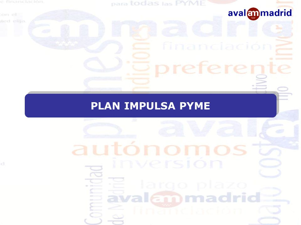 PLAN IMPULSA PYME