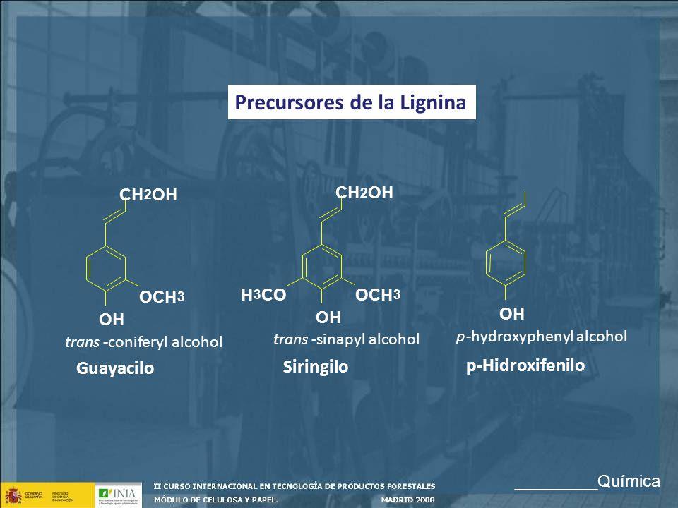 Precursores de la Lignina