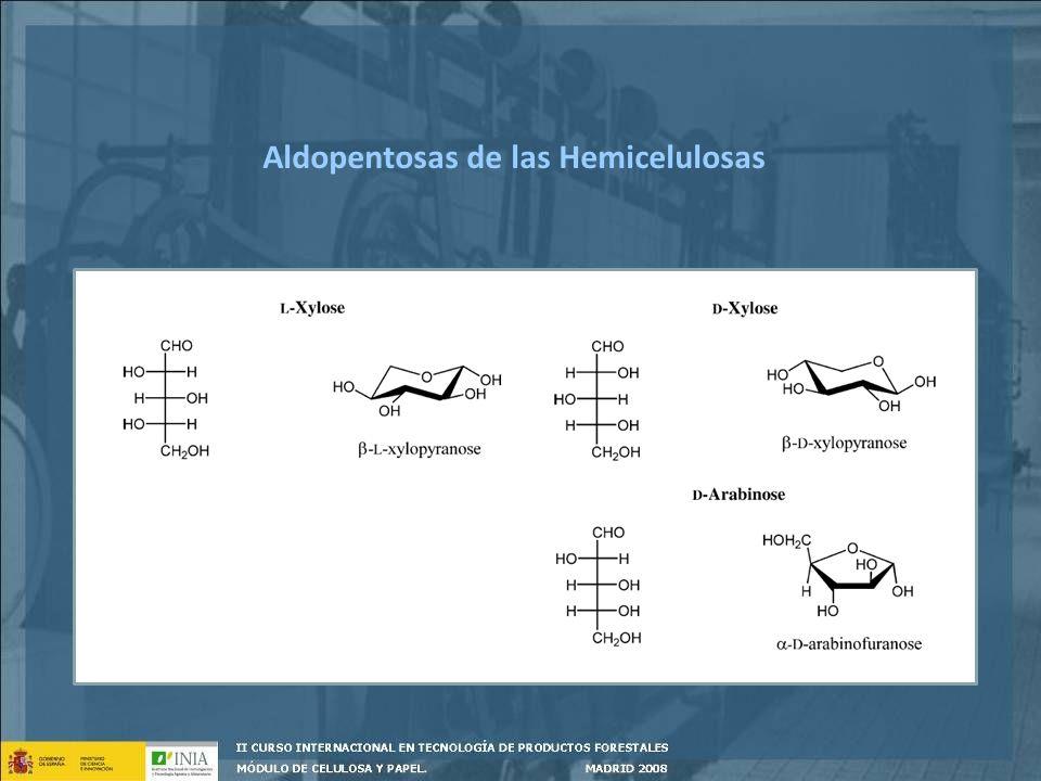 Aldopentosas de las Hemicelulosas