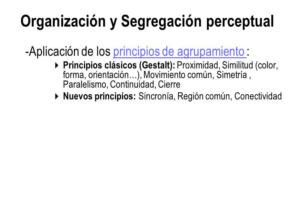 Organización y Segregación perceptual