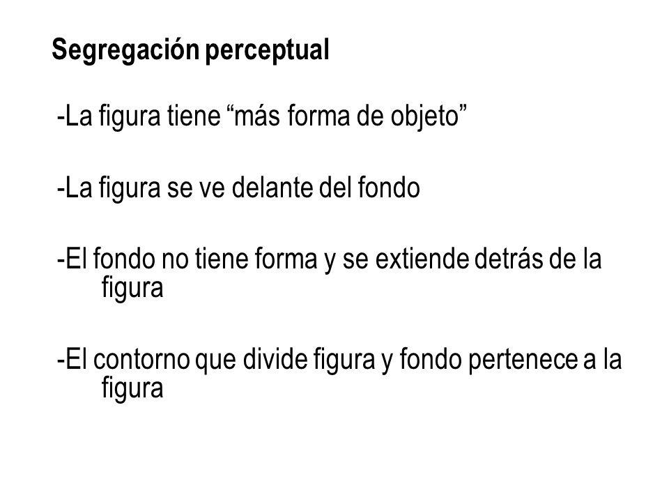 Segregación perceptual