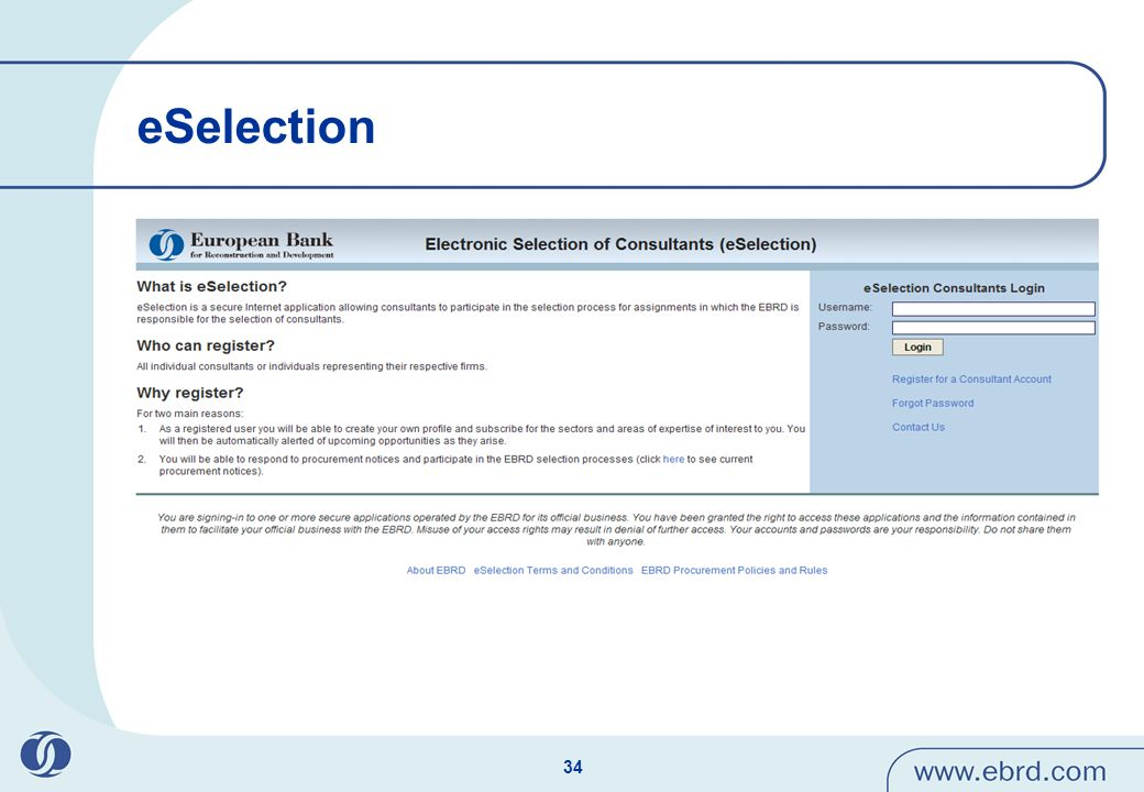 eSelection