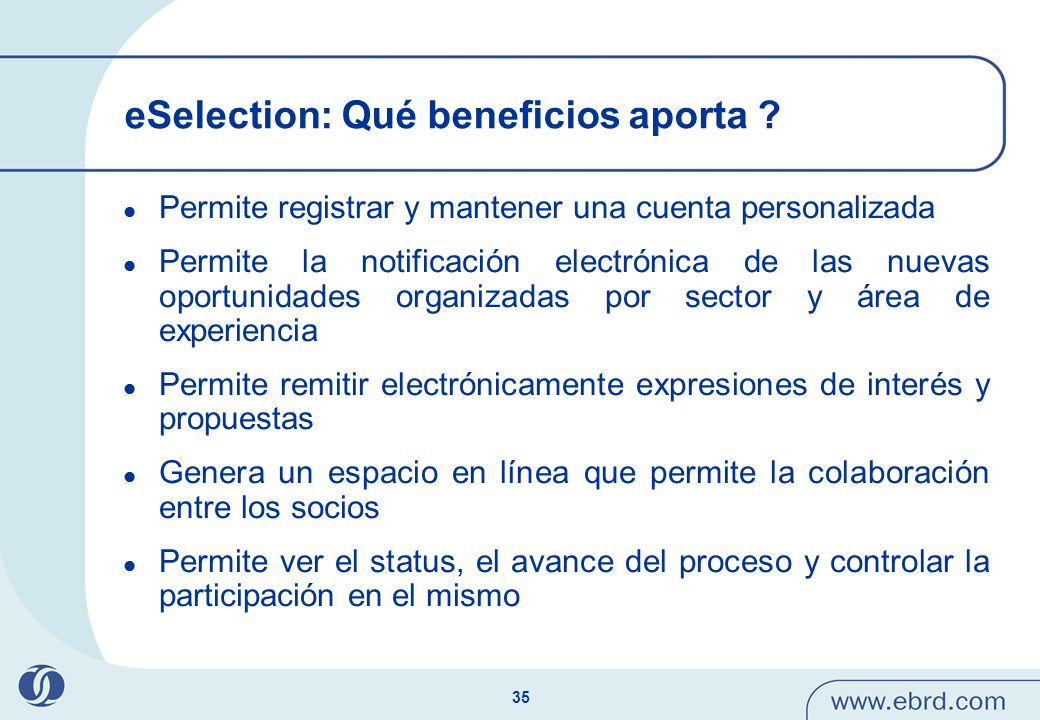 eSelection: Qué beneficios aporta