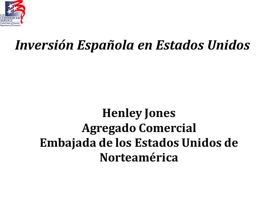 Inversión Española en Estados Unidos