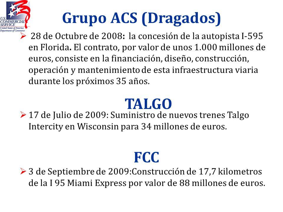 Grupo ACS (Dragados) TALGO FCC