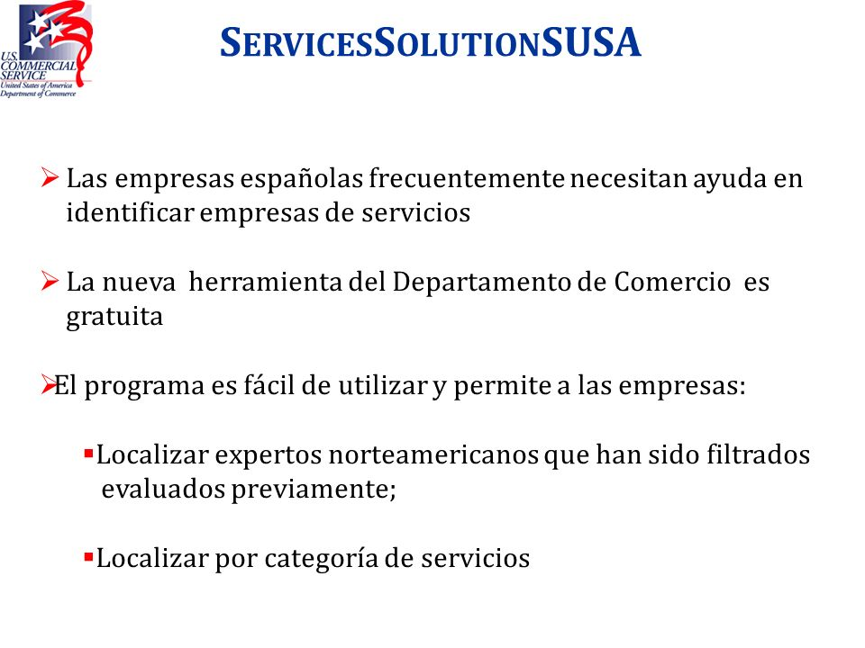 ServicesSolutionSUSA